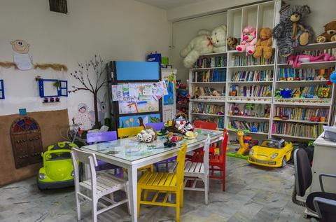 کتابخانه کودکان موسسه خیریه بهنام دهش پور