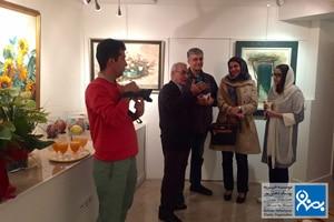 افتتاحیه نمایشگاه صدقدار موسسه خیریه بهنام دهش پور