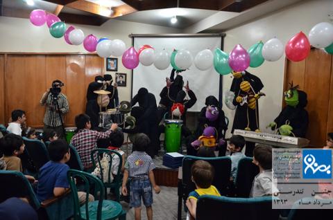 جشن تندرستی کودکان موسسه خیریه بهنام دهش پور