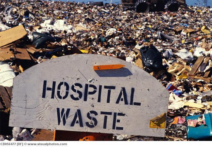 امحای زباله بیمارستانی موسسه خیریه بهنام دهش پور