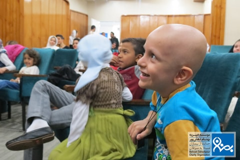 اینجا کودکان شادند موسسه خیریه بهنام دهش پور
