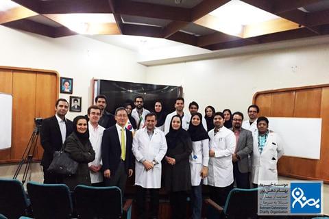 برگزاری سمینارهای تخصصی در بیمارستان تجریش موسسه خیریه بهنام دهش پور