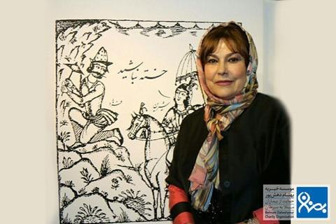 نمایشگاه کامبیز موسسه خیریه بهنام دهش پور