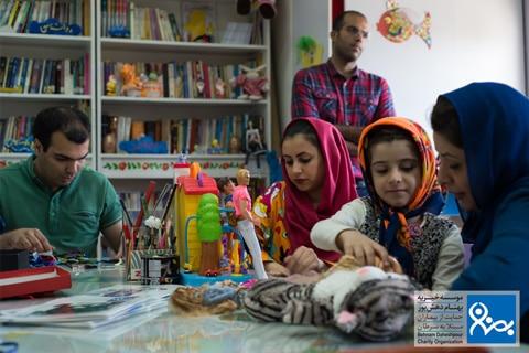 داوطلبین موسسه خیریه بهنام دهش پور