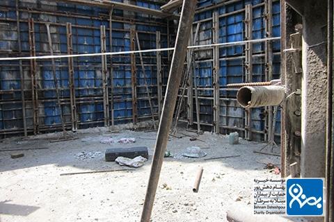 ساخت بونکر موسسه خیریه بهنام دهش پور