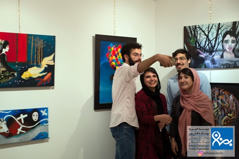 نمایشکاه دسته جمعی موسسه خیریه بهنام دهش پور