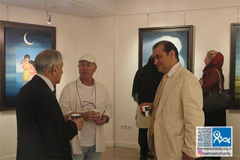 نمایشگاه مهسا مشایخی موسسه خیریه بهنام دهش پور