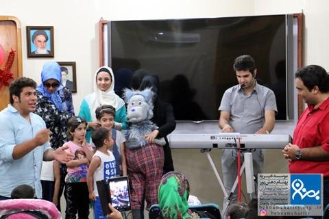 مراسم عید موسسه خیریه بهنام دهش پور