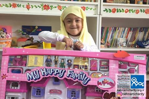 آرزوی کودکان موسسه خیریه بهنام دهش پور