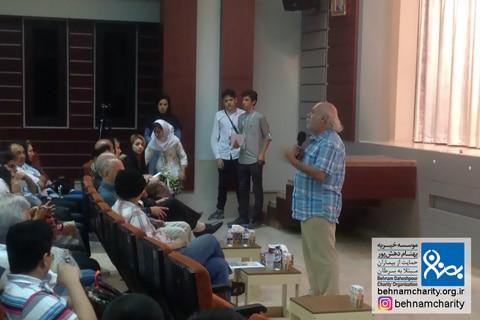 مدرسه طباطبایی,جشنواره سینما موسسه خیریه بهنام دهش پور