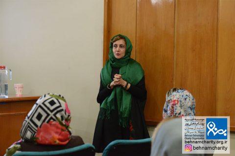 کارگاه آموزشی پیشگیری از سرطان پستان موسسه خیریه بهنام دهش پور