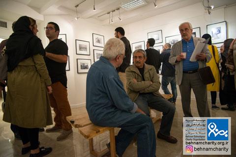 افتتاحیه نمایشگاه عکس استاد نصرالله کسراییان موسسه خیریه بهنام دهش پور