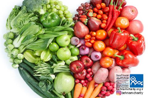 بهترینهای غذایی برای پیشگیری از انواع سرطان موسسه خیریه بهنام دهش پور
