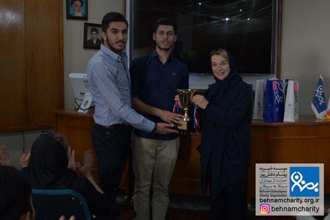 پیوند تاریخی والیبال با سازمانهای مردم نهاد موسسه خیریه بهنام دهش پور
