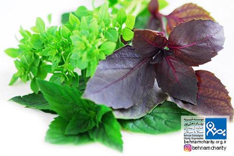 ۵ نوع سبزی برای پیشگیری و درمان سرطان موسسه خیریه بهنام دهش پور