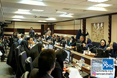 سومین نشست تشکیل شبکه ملی سرطان موسسه خیریه بهنام دهش پور