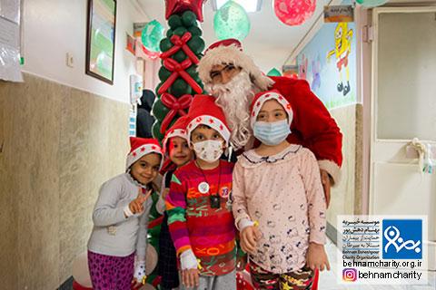 حضور گرم بابانوئل