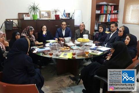تعامل سازمانهای مردمنهاد موسسه خیریه بهنام دهش پور