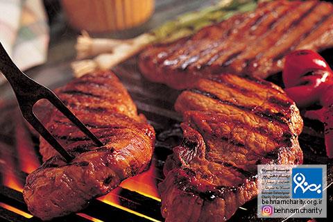 گوشت را چگونه کباب کنیم تا سرطانزا نشود موسسه خیریه بهنام دهش پور
