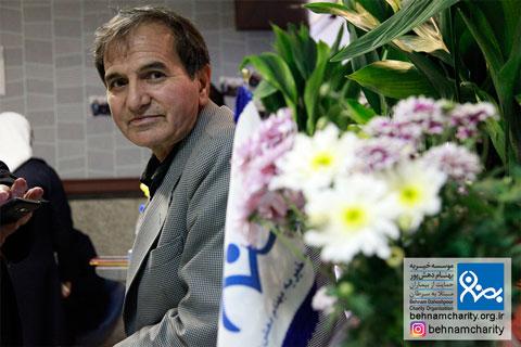حضور استاد خسروی در جشنواره نوروزی موسسه خیریه بهنام دهش پور
