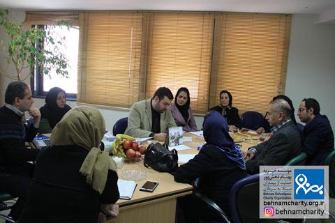 جلسه هماهنگی هیات موسس شبکه ملی موسسات<a href='https://behnamcharity.org.ir' title='خیریه'> خیریه</a>