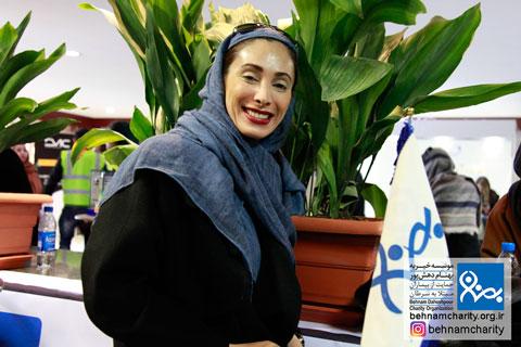 حضور سحر زکریا هنرمند دوستداشتی کشور در جشنواره نوروزی بهنام دهش پور موسسه خیریه بهنام دهش پور