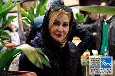 حضور و حمایت هنرمندان این سرزمین یگانه است. حضور آنا نعمتی در جشنواره نوروزی بهنام دهش پور موسسه خیریه بهنام دهش پور