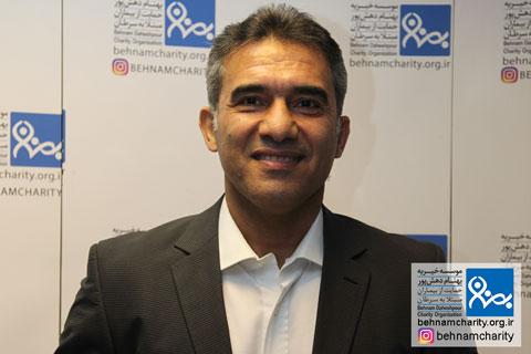 احمدرضا عابدزاده موسسه خیریه بهنام دهش پور