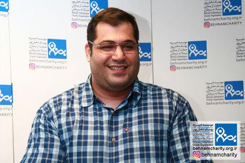 محمدرضا رودکی موسسه خیریه بهنام دهش پور