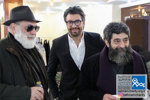 حضور استاد دبیری در جشنواره نوروزی موسسه خیریه بهنام دهش پور