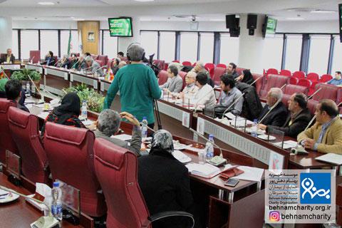 نخستین مجمع عمومی شبکه ملی موسسه خیریه بهنام دهش پور