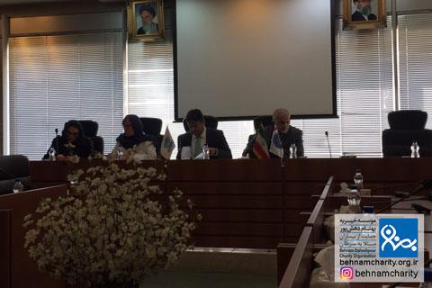 جلسه مشترک تبادل نظر در مورد اجرای اقدامات و گسترش تاب آوری در اداره اتباع موسسه خیریه بهنام دهش پور