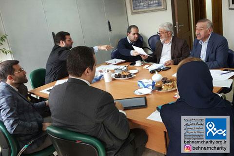 اولین نشست هیئت مدیره شبکه ملی موسسات خیریه حوزه سرطان  موسسه خیریه بهنام دهش پور