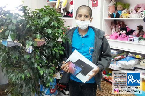 آرزوی محمد برآورده شد موسسه خیریه بهنام دهش پور