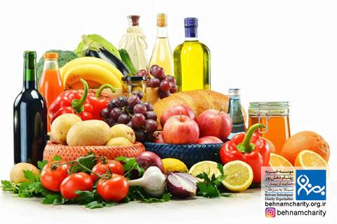 غذاهای ضد سرطان و غذاهای سرطان زا موسسه خیریه بهنام دهش پور