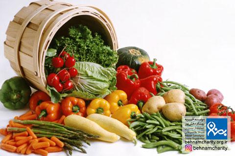 با مصرف سبزیجات از سرطان پیشگیری کنیم موسسه خیریه بهنام دهش پور