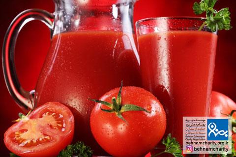 کاهش احتمال ابتلا به سرطان پوست با گوجه فرنگی موسسه خیریه بهنام دهش پور