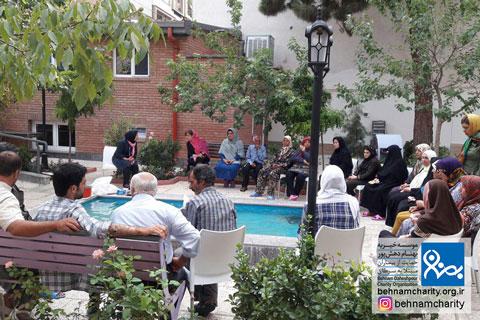 خدمات حمایتی در شهریورماه ١٣٩۶ موسسه خیریه بهنام دهش پور