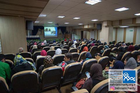 مراسم روز داوطلب موسسه خیریه بهنام دهش پور