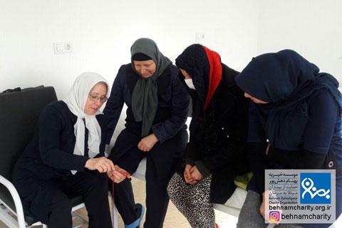 آخرین خبرها از خدمات حمایتی موسسه  موسسه خیریه بهنام دهش پور