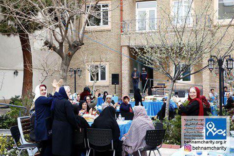 جشن نوروزی در نقاهتگاه موسسه خیریه بهنام دهش پور
