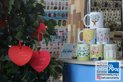 رونمایی از امید در باغ کتاب موسسه خیریه بهنام دهش پور